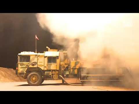 Afrin'e silah ve mühimmat taşıyan terör örgütü konvoyu vuruldu