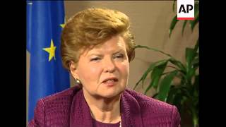 AP Intv with only female EU Presidential candidate, Vike-Freiberga
