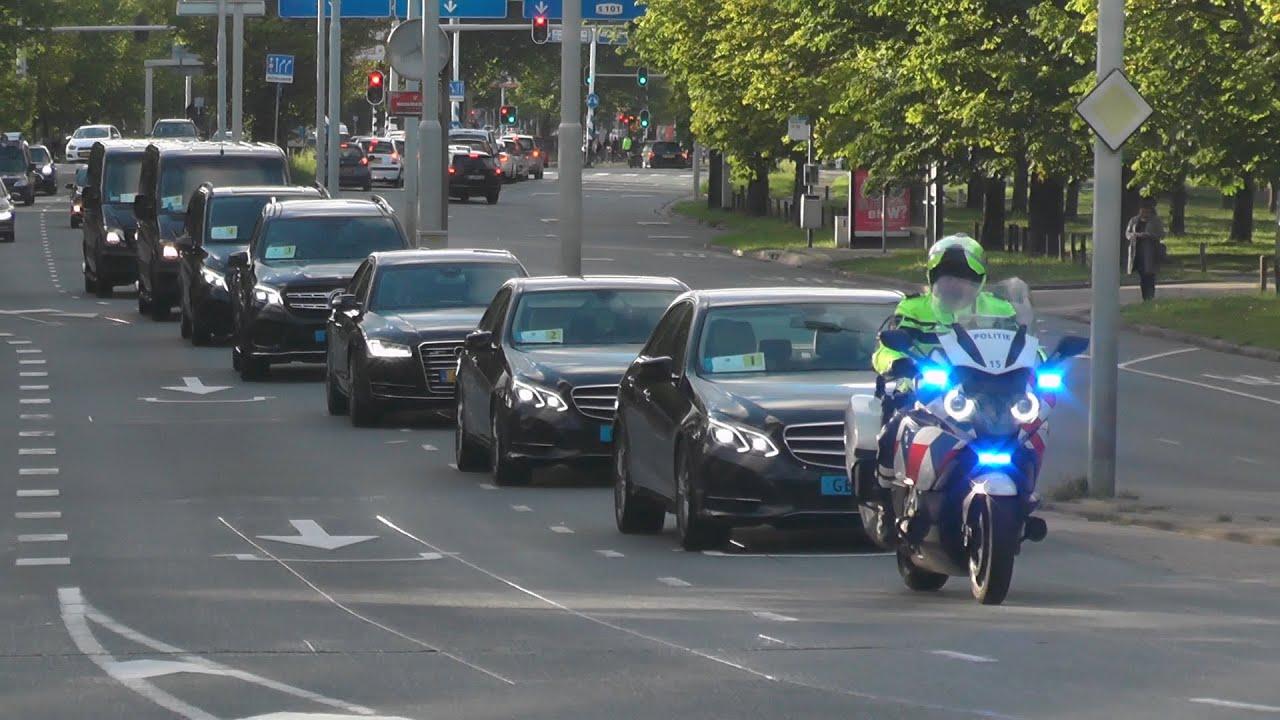 Politie begeleidt Minister-President Conte Italië in Den Haag! #1126