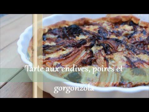 tarte-aux-endives,-poires-et-gorgonzola