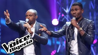 Cornel vs Obass Battle sing ''Wish me Well' / The Battles / The Voice Nigeria 2016