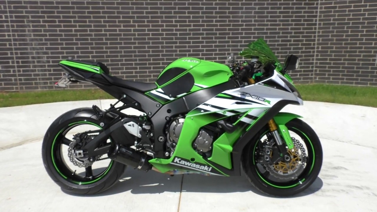 012315 2015 Kawasaki Ninja ZX 10R Used motorcycles for sale