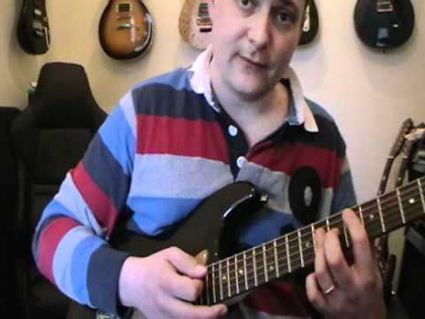 Hush Deep Purple Guitar Lesson Youtube