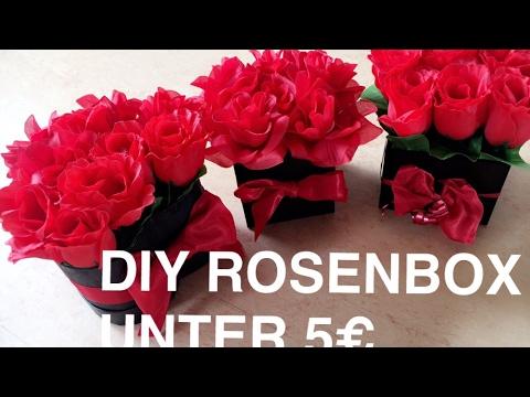 Diy Rose Box 3 Ways Rosenbox Unter 5 Euro Selber Macheni Marina Si