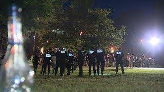 [SCHWERE KRAWALLE IN SCHORNDORF] Polizei räumt am Sonntag den Schlosspark