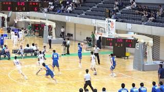 東京vs茨城(Q1)高校バスケ 2017 国体関東ブロック準決勝