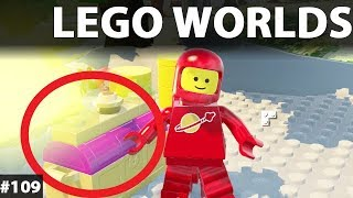 LEGO Worlds Po polsku - Nowe budynki kosmiczne - gry dla dzieci