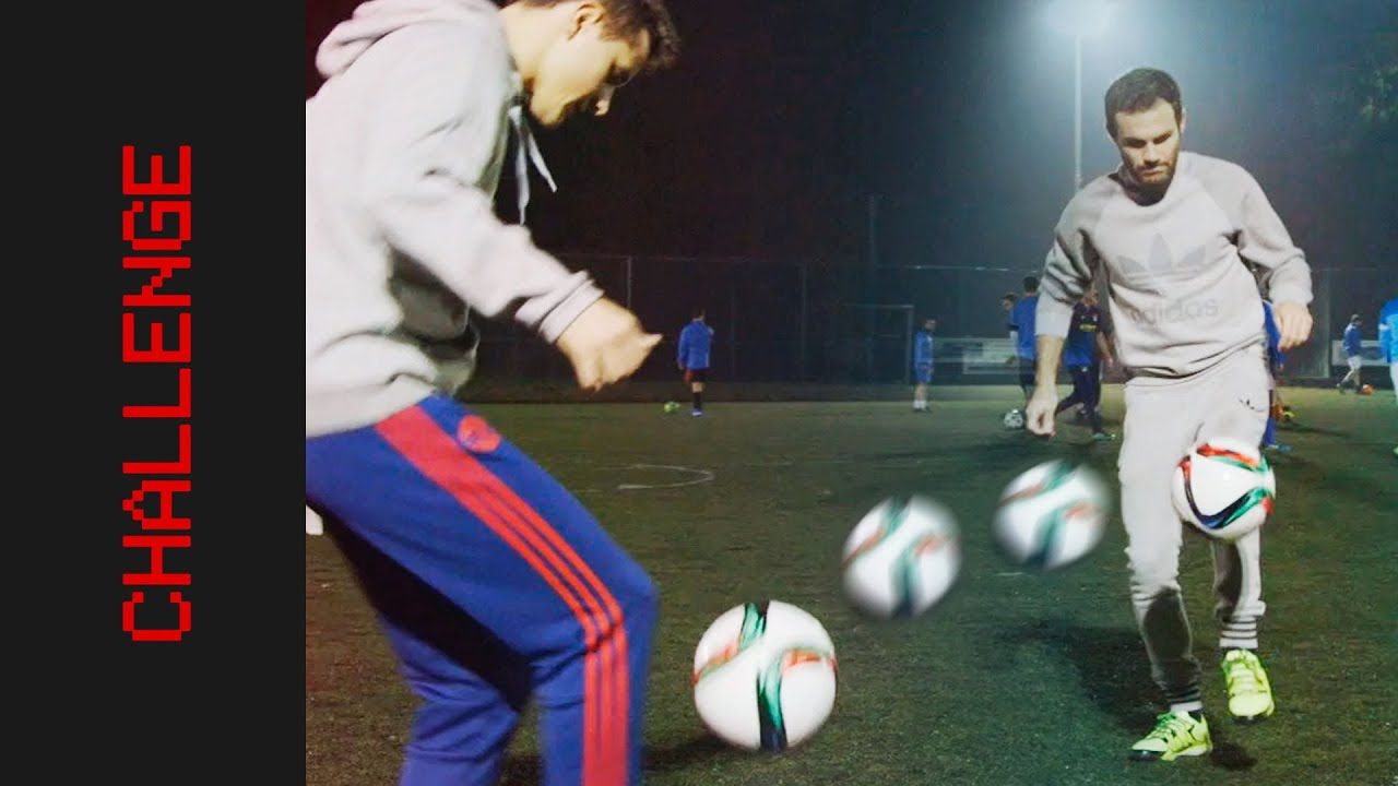 "VIDEO: United-Stars in der ""Two Ball Challenge"""