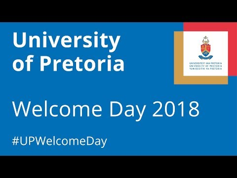 University of Pretoria Welcome Day Live Stream in HD
