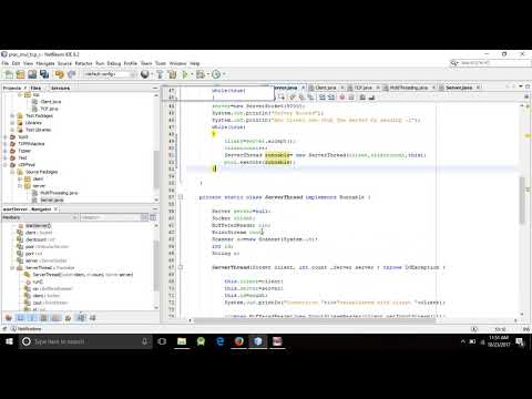 Multi-Client-Server Chatting || MultiUser Chat || Java Socket Programming