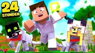 24 STUNDEN als HAUSTIER LEBEN?! - Minecraft [Deutsch/HD]