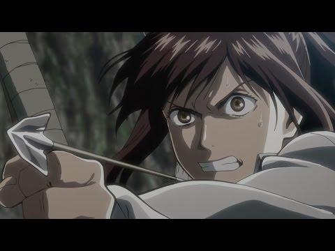 Attack on Titan Season 2 - Epic Sasha Fight Scene