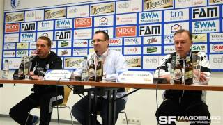 Pressekonferenz - 1. FC Magdeburg gegen 1. FC Union Berlin II 1:2 (0:0) - www.sportfotos-md.de