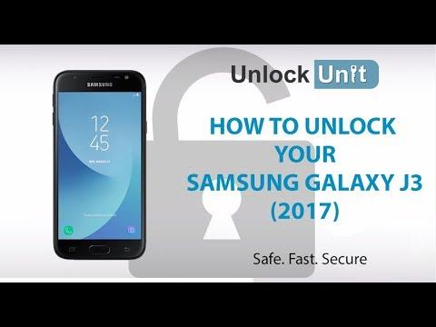 HOW TO UNLOCK Samsung Galaxy J3 (2017)