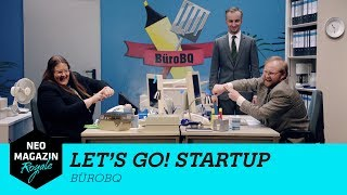 Let's Go Start Up: BüroBQ | NEO MAGAZIN ROYALE mit Jan Böhmermann - ZDFneo