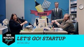 Let's Go Start Up: BüroBQ | NEO MAGAZIN ROYALE mit Jan Böhmermann - ZDFneo