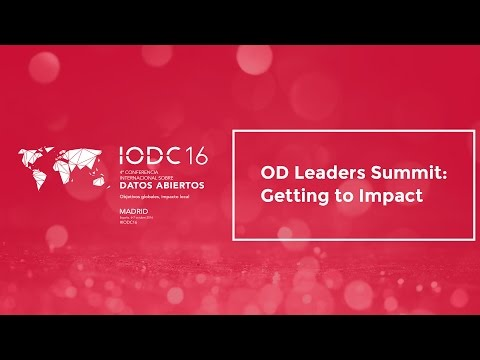 OD Leaders Summit: Getting to Impact - Oct. 5