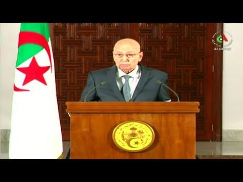 Algerian presidential election fixed for December 12, says interim president