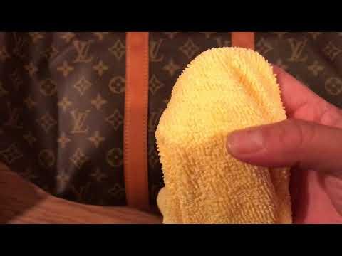 Cleaning Louis Vuitton vachetta leather: Saddle Soap part 2