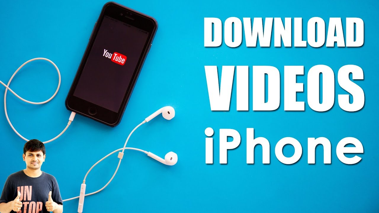 How to download videos from internet to iphone with ease.