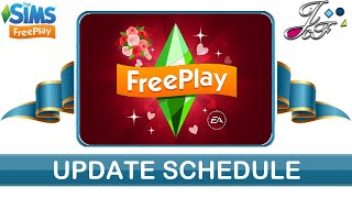 sims FreePlay  ROMANCE UPDATE SCHEDULE  (Early Access)
