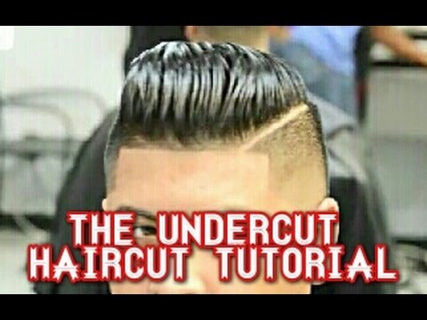 How To Do The Undercut Haircut Pompadour Finish Youtube