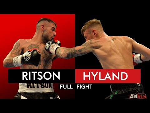 FULL FIGHT: Lewis Ritson BLASTS out Paul Hyland Jnr in one round 🥊