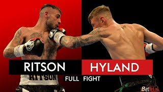 FULL FIGHT: Lewis Ritson BLASTS out Paul Hyland Jnr in one round 🥊 thumbnail