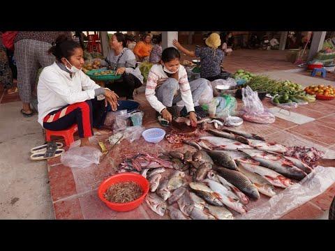 Compilation Food Market At Kandal Province - Amazing Food Market At Vihea Sour District @ Kandal
