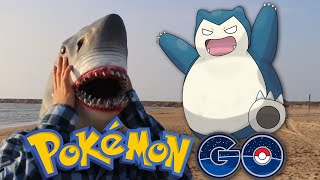 A Shark Plays Pokémon GO (and hates it)