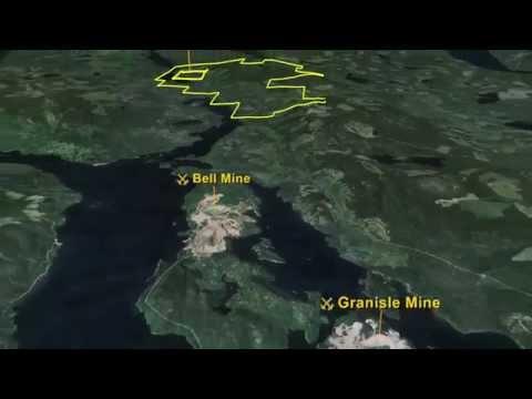 Pacific Booker Minerals - Morrison porphyry copper/gold/molybdenum deposit