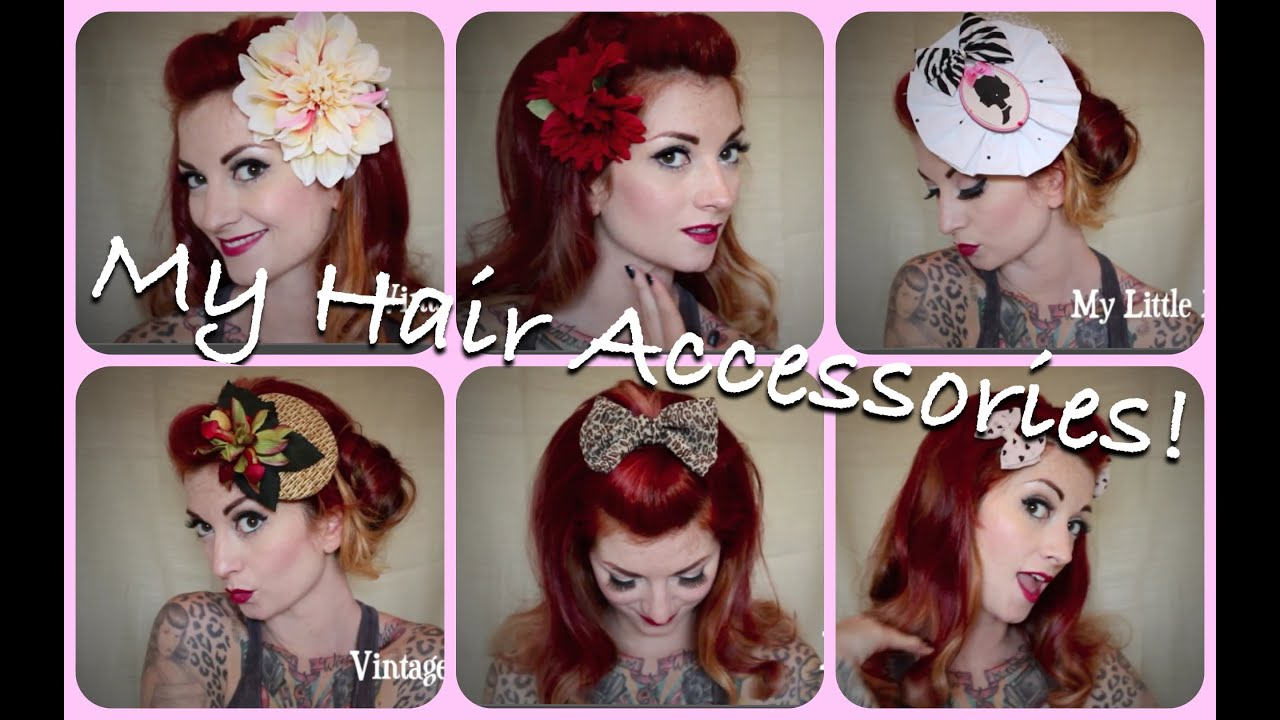 Flower bow fascinator pinup hair accessory collection by cherry flower bow fascinator pinup hair accessory collection by cherry dollface solutioingenieria Images