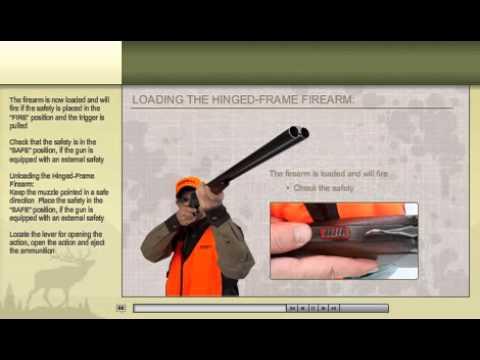 HunterEdCourse.com Hunter Safety Course Online Sample