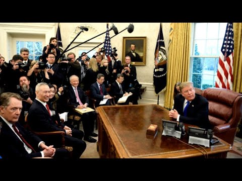 Trump extends tariff deadline as US-China trade talks make progress