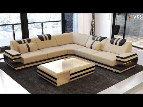 Modern Sofa Set Interior Design Ideas   Living Room Corner Sofa Design   U Shaped Sofa Design