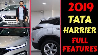 2019 TATA HARRIER FIRST IMPRESSION | FEATURES | INTERIOR | Rahul Singh