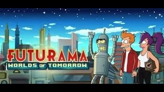 Futurama: Worlds Of Tomorrow - Teaser Trailer. 1080p