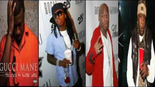 Gucci Mane Ft Lil Wayne, Birdman, Jadakiss - Wasted Remix (Official Remix)