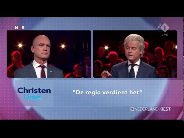 Wilders vs Segers - De regio verdient beter dan de ChristenUnie