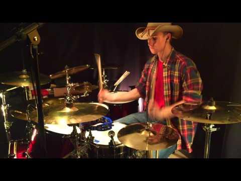 Luke Bryan - Country Girl (Shake it for me) - Drum Cover - Chris Stupak