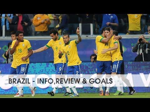 BRAZIL ● National Football Team || Info,review & goals || 2015-2016 || HD