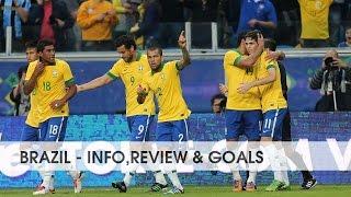 BRAZIL ● National Football Team    Info,review & goals    2015-2016    HD