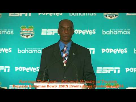POPEYES BAHAMAS BOWL 2016: Harrison Thompson - ESPN EVENTS PRESS CONFERENCE