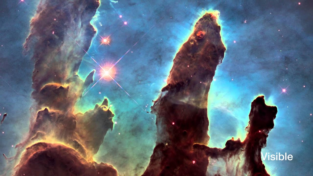 Hubblecast 82: New view of the Pillars of Creation - YouTube