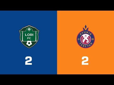 Lori - Pyunik 2:2, Armenian Premier League 2018/19, Week 34