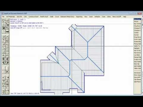 Applicad roof wizard easy 3d roof modeling youtube Home modeling software