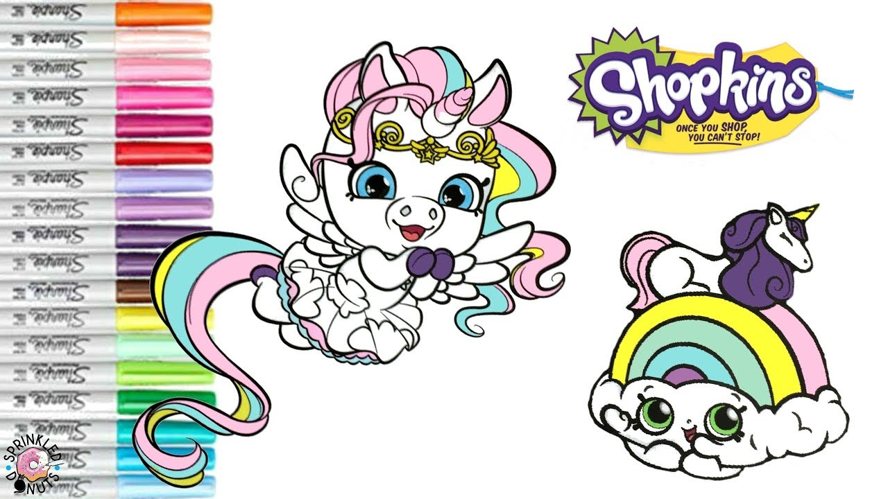 Shopkins Shoppet Rainbow Sparkle