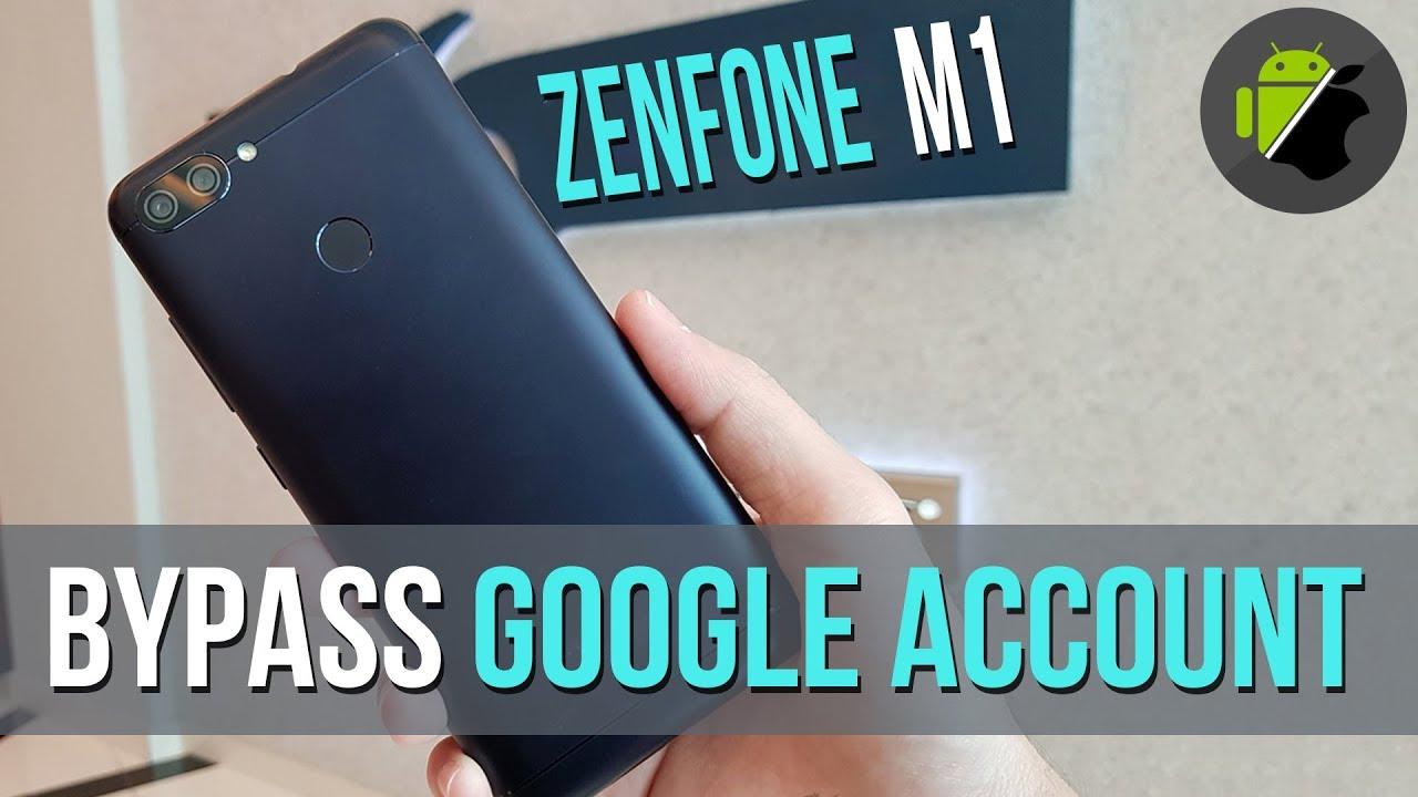 Bypass Frp Google Account Asus Zenfone Max Plus M1 X018d