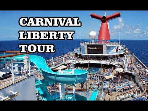 Carnival Liberty Cruise Ship Tour Youtube