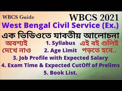 WBCS Syllabus 2021,